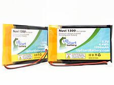 2x Replacement Battery for Garmin Nuvi 1300, Nuvi 1350T, 1350T, Nuvi 1340T Pro