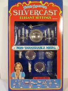 1978 IMPERIAL TERRI'S TREASURES SILVERCAST ELEGANT SETTINGS CANDLELIGHT DINNER