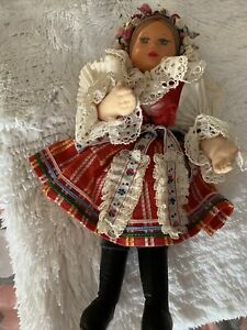 """doll Dressed In An Ethnic Outfit 10"""" High"""