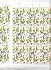 CCCP URSS 32 feuilles  Flore Plantes médicinales  3 k 1985