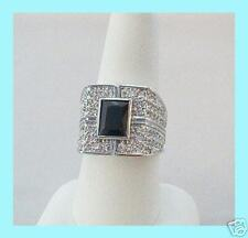 ELVIS TCB JEWELRY BLK DIAMOND INTERNATIONAL/HILTON RING