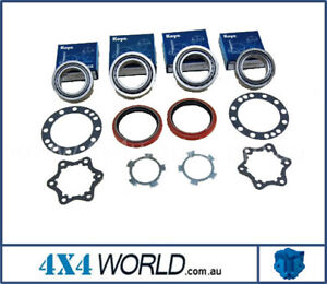 For Toyota Landcruiser HDJ100 UZJ100 Series Wheel Bearing Kits - 2 x Front