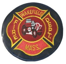 Wakefield Massachusetts Fire Department MA