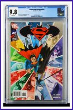 Superman Batman #61 CGC Graded 9.8 DC August 2009 White Pages Comic Book