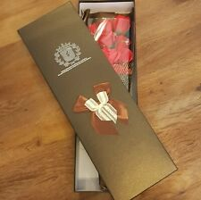 Beautifully Gift BOXED bunch of Red soap roses
