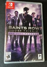 Saints Row The Third [ The Full Package ] (Nintendo Switch) NEW