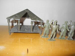 Vintage HP MPC Tent & Figures 60mm