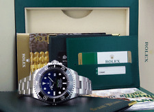ROLEX - 2016 NEW Stainless DEEPSEA SeaDweller Blue Gradient 116660 - SANT BLANC