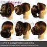 Clip in Hair Bun, Hair Extensions Hair Piece Wigs Ponytail Scrunchie Accessories