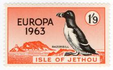 (I.B-JA) Cinderella Collection : Jethou Island 1/9d (Razorbill) Europa 1963