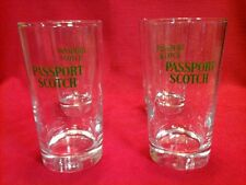 Vintage Barware: Scotch/Cocktail Tumblers/Glasses set of (4) man cave