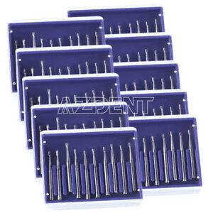 10X Dental FG-330 Tungsten Steel Burs for High Speed Handpiece 100Pcs