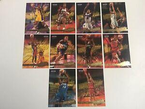 1999 Fleer Ultra WNBA Attitude 10 Card Insert Set. Nice!