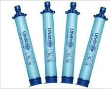 4 LIFESTRAW PORTABLE Personal WATER FILTER Purification Purifier Survival Gear