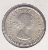 CB154) Australia 1959 Florin uncirculated with full lustre