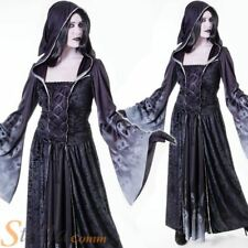 Ladies Forgotten Souls Ghost Demon Witch Horror Halloween Fancy Dress Costume