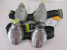 Nathan Mercury 2 Double Bottle Gray Lightweight 1 Size Fits Belt Bottle