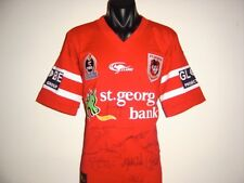 ST GEORGE DRAGONS 2005 HERITAGE SIGNED 15 PLAYERS CLASSIC NRL SHIRT JERSEY LARGE