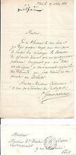 LE COMTE ALFRED GILBERT DE VOISINS CONSUL DE FRANCE A ODESSA / MARIE TAGLIONI