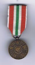 NIGERIA ORDER OF THE NIGER   MILITARY  MEDAL c/w RIBBON SECURE PIN