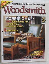 Woodsmith Magazine Vol 26 No 155 October November 2004 Morris Chair Woodworking