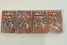 """Cowboy Classics Readers Digest 4 Cassette Boxed Set"""" Best Of The West"""" SEALED"""