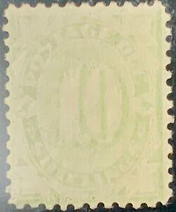 Australia #SGD43 Mint CV£2000.00 1902 10sh Postage Due P11 [Faded][J21 Mi13IID]