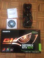 Gigabyte Nvidia GTX 1070 G1 8GB GDDR5 PCI-E