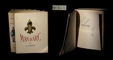 [ENVOI DEDICACE NORMANDIE] LA VARENDE (Jean de) / ARNOUX (ill. de) - Man' d'Arc.