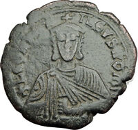 LEO VI the WISE 886AD Constantinople Follis Medieval Byzantine Coin i64897