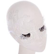 Womens Eye Mask Balck White Lace Masks Masquerade Ball Halloween Party Costume