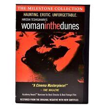 Woman in the Dunes (DVD, 2000) Hiroshi Teshigahara Milestone Collection