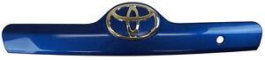 2009-2010 Toyota Matrix Rear Trim Bezel W/Badge Blue Metallic New 7680102330J1