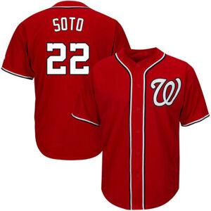 NWT Juan Soto #22 Washington Nationals 2019 World Series Champions Jersey