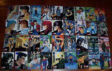 Japan Bandai Yu Yu Hakusho Yuyu Carddass Part 4 Regular Card Set of 36