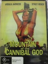 MOUNTAIN OF THE CANNIBAL GOD - OOP RARE DELETED REGION FREE 0 PAL DVD