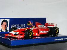 Minichamps Williams Mecachrome 1998 Launch Jacques Villeneuve LTD ED 1/43