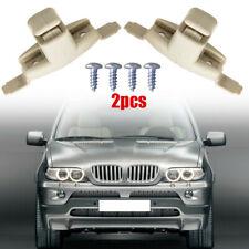 For BMW E46 323i 323Ci 325i 325Ci 325xi M3 Beige Sun Visor Clip Holder Bracket-