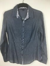 Brooks Brothers 346 Ladies Blouse Shirt Work Office Size 10 US 100% Cotton *VGC*