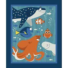 Disney Finding Nemo fabric Panel Licensed Fabric Springs Creative