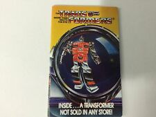 REFLECTOR Mail In Order Form Vintage 1985 Hasbro Transformers G1 Catalog