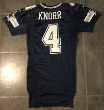 Dallas Cowboys Micah Knorr Game Issued Nike Jersey Size 44 Landry Patch