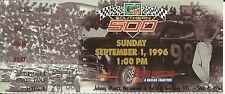 NASCAR 1996 Mountain Dew Southern 500 Darlington Ticket Stub - Jeff Gordon Win