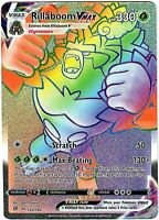 Rillaboom Vmax 193/192 - Secret Rare - Pokemon Sword and Shield Rebel Clash