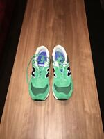 New Balance Running WL574SMC Summit Green Shoes/Trainers Womens Sz 12 Mens 10.5