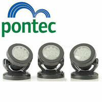 Pontec Pondostar LED Set of 3 Pond Lights Lighting for underwater & garden OASE