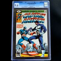 CAPTAIN AMERICA #241 🔥 CGC 9.6 🔥 VS PUNISHER Battle! Marvel Comics (1980)