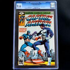🔥 CAPTAIN AMERICA #241 ~ CGC 9.6 ~ VS PUNISHER Battle! Marvel Comics (1980)🔥