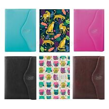 Diary 2022 A5 Day A Page Appointment Pu Leather Magnetic Closure Index Planner