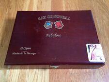 San Cristobal Fabuloso Empty Wooden Cigar Box